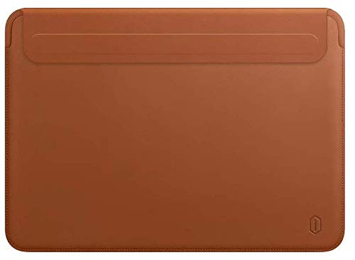 WIWU Skin Pro II - MacBook Sleeve - 16 inch - PU leer - Brown