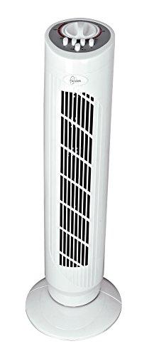 Farelek - Ventilatore a colonna Dakota, aria fredda, con timer di 2 ore