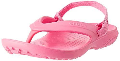 Crocs Unisex-Kinder Classic Flip K Zehentrenner, Pink Lemonade, 22/23 EU