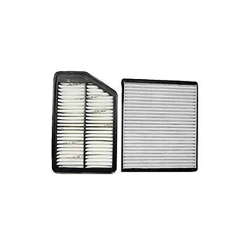 MCYAW Filtro de Aire de Cabina para i40 (VF) / ix35 1.6 1.7 2.0l / i30 (GD) 1.4 1.6 GDI 2009/2019 28113-3X000 97133-2h001 (Color : 2 Pcs Filter)