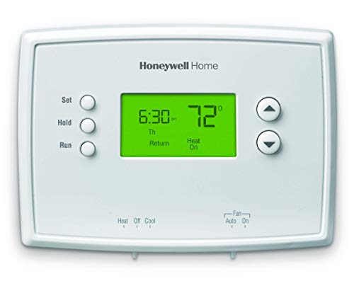 Honeywell Home RTH2300B1038 5-2 Day Programmable Thermostat, White (Renewed)