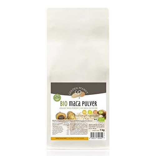 Bio Maca poeder, premium kwaliteit van Peru, biologisch gecertificeerd 1000 g
