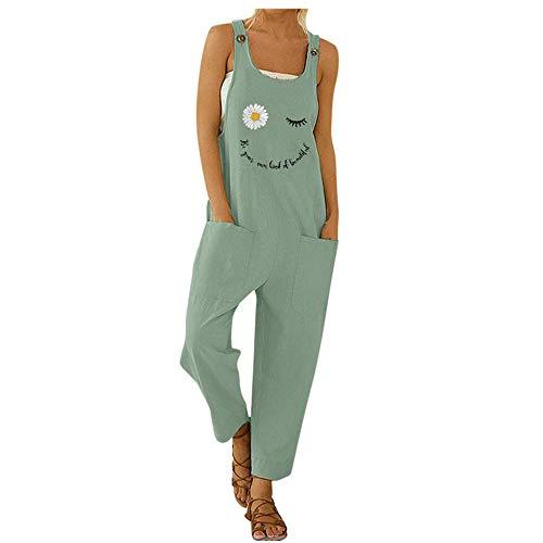 profesional ranking Monos de mujer con pantalones largos casuales, mono de harén de verano móvil con bolsa de moda gratis … elección