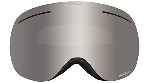 Dragon DR X1 Bonus Snow Goggles (Coyote/LLSILION+LLVIOLET), one Size