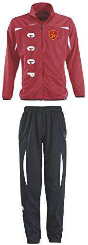 Aprom-Sports CCCP Russland Trainingsanzug - Sportanzug - S-XXL - Fußball Fitness (XXL) (L)
