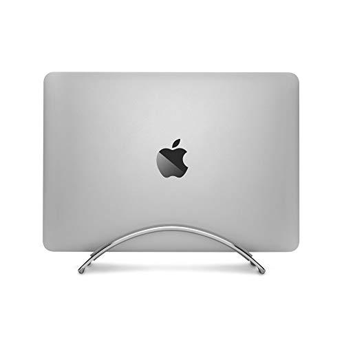 Twelve South BookArc for MacBook   Appleノートブックのための省スペース縦置きスタンド シルバー