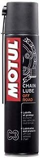 Grasa spray para cadena Motul C3 Chain Lube Off Road – 5 x 400 ml