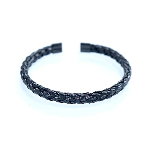 Pulsera de tobillo 3pcs / set de acero inoxidable Real pulseras y brazaletes romanos Amor pulsera del brazalete del rectángulo for los hombres pulsera de los hombres de Pulseira Pulseras para mujer