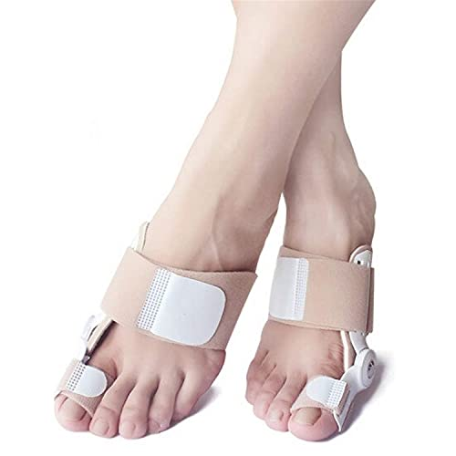 BILXXY Orthotics Separador de Dedos Cinturón alisador, Correctores de Hallux valgus Funda Protectora de juanetes, Férula para el Pulgar del pie Que Reduce Las molestias en los Dedos