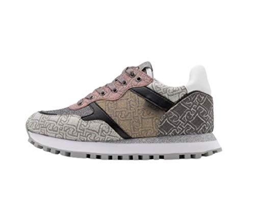 Scarpe Sneaker Running Liu-Jo Wonder Glitter Monogram Multicolor DS21LJ07