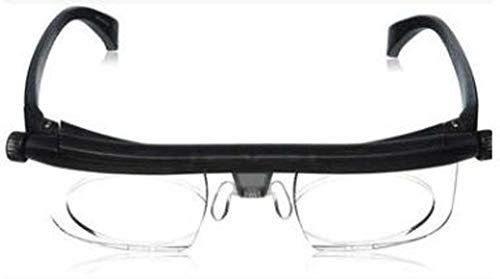 Lente di ingrandimento compatta Lente di ingrandimento, Custodia Ultra Thin Pod Plus Stick Anywhere, Occhiali da vista regolabili con specchio Zoom, ideale per hobby, artigianato, banco da lavoro