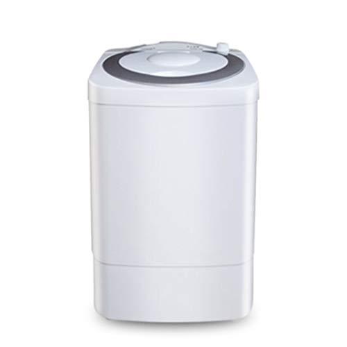 DAND Mini Lave Linge, Machine à Laver Portable, Ensemble de Lavage et d'essorage Compact,Capacité 7.0 kg, Puissance 300 Watts, pour Appartement,Dortoirs,Véhicules de Camping,Camping,Silver