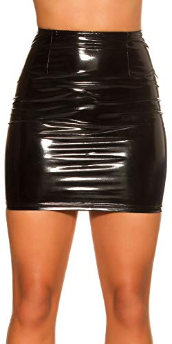 jowiha Latex Look Minirok