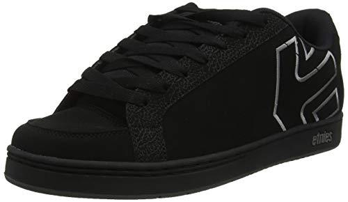 Etnies Men's Kingpin 2 Skate Shoe, Black/Black/Grey, 9 Medium US