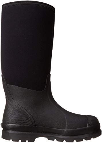 Muck Chore Classic Men's Rubber Work Boots,Black,Men's 9 M US / Women's 10 M US
