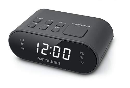 Muse M-10 Uhrenradio schwarz