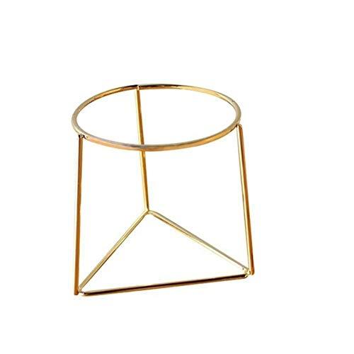 Herramienta de jardín- Tiesto geométrica del metal del estante del cuidado de...