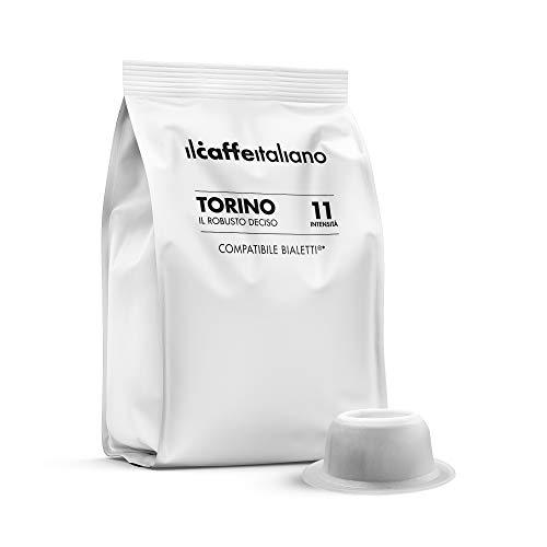 FRHOME Il Caffè Italiano Capsule compatibili con Bialetti, Miscela Torino Intensità 10, Confezione da 100 Capsule
