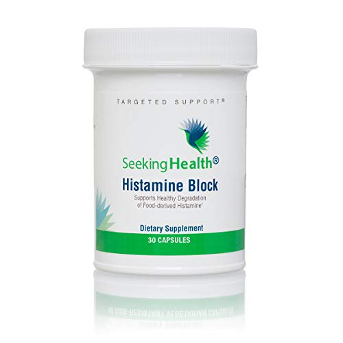 Seeking Health | Histamine Block | DAO Supplement Enzyme | Food Intolerance | Histamine Intolerance | GI Tract Supplements | Dhist Capsules (30 Count)