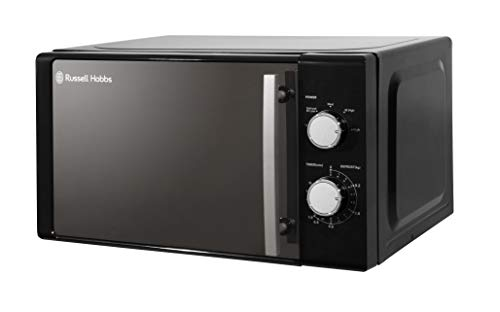 Russell Hobbs RHM2060B Manual Microwave, 20 Litre, 800W Power, 5 Power Levels, Black