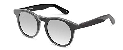 Wolfnoir Hathi Ace Stone Grey Gafas de sol, Gris/Gris Plata, 45 Unisex