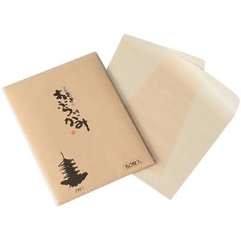 京都東寺のあぶらとりがみ 大判サイズ 50枚入