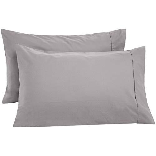 AmazonBasics Ultra-Soft Cotton Pillowcases