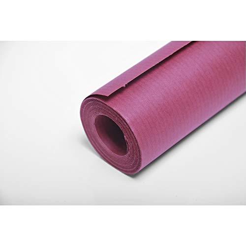 Clairefontaine 195706C Rolle (färbiges Kraftpapier, 10 x 0,7 m,65 g, PEFC, ideal für Ihre Bastelprojekte) 1 Stück rot