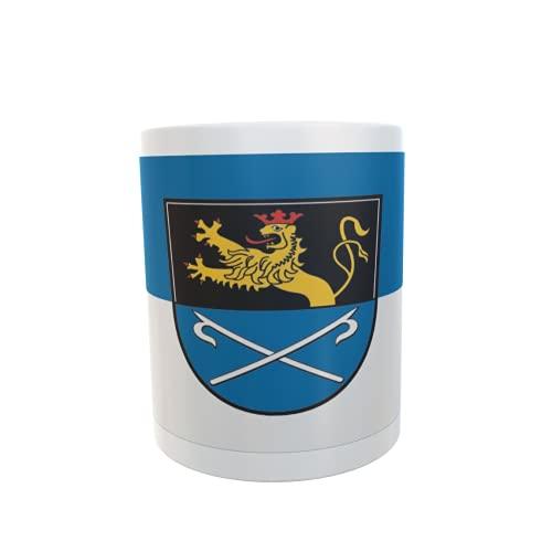 U24 Tasse Kaffeebecher Mug Cup Flagge Hockenheim
