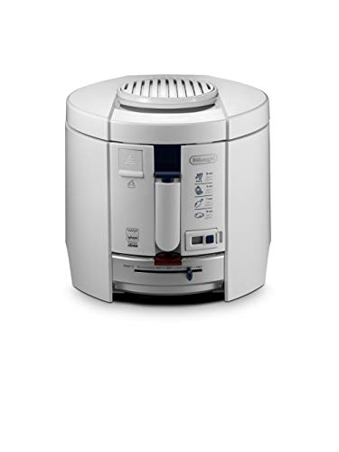 DeLonghi F 26237.W Fritteuse, weiß