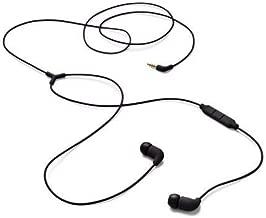 AIAIAI Pipe Earphones w/ one button mic in Black
