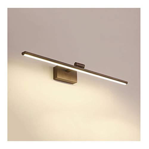 Lámpara Lámpara De Tocador De Baño, Minimalista Y Moderna, Diseño De Cabezal De Lámpara Giratoria, Impermeable Y Antivaho Cuatro Tamaños Luces de baño (Color : B)