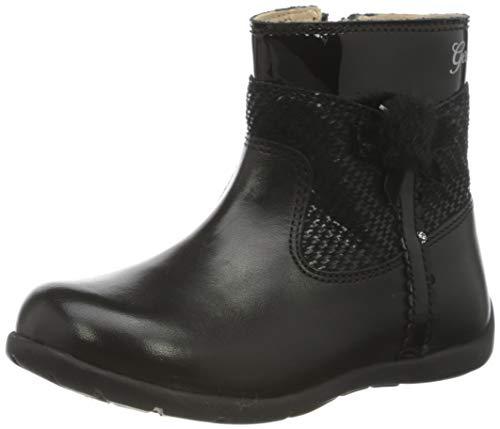 Geox B Kaytan A, Ankle Boot Bimba 0-24, Black (Black), 20 EU