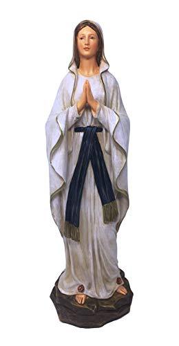 Osiris Trading UK - Figura Decorativa de la Virgen bendecida de Nuestra Señora de los Lourdes para el hogar o la Capilla