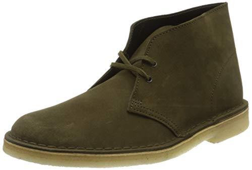 Clarks ORIGINALS Desert Boot Mens Desert Boots in Dark Olive - 10 US