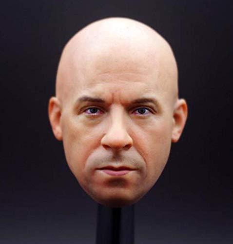 Tytlmask hoofd sculpt schaal 1/6 masker accessoires heren pilot Macho Mr. Win Diesel hoofd Craved Warm Model sterke actie figuur