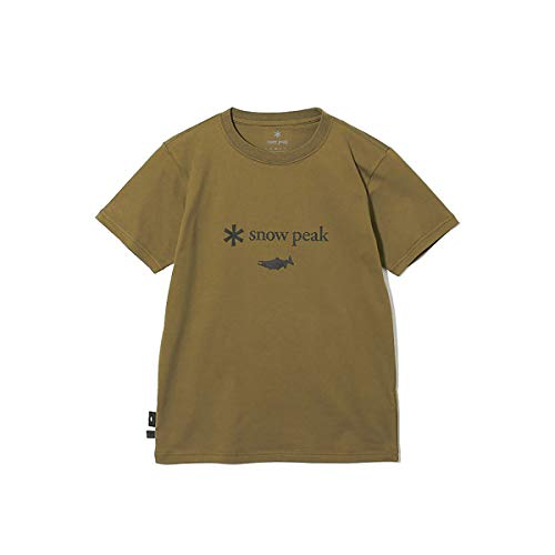 snow peak(スノーピーク) SP×TONEDTROUT Logo Tshirt Beige XL/L TT2020SNPCS0105