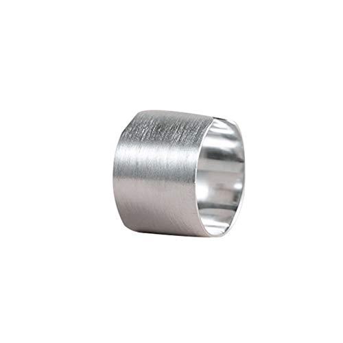 XIAOLIAN Ring, 925 Sterling Silber Mode Persönlichkeit Einfache Glänzende Öffnung Koreanischen Schmuck