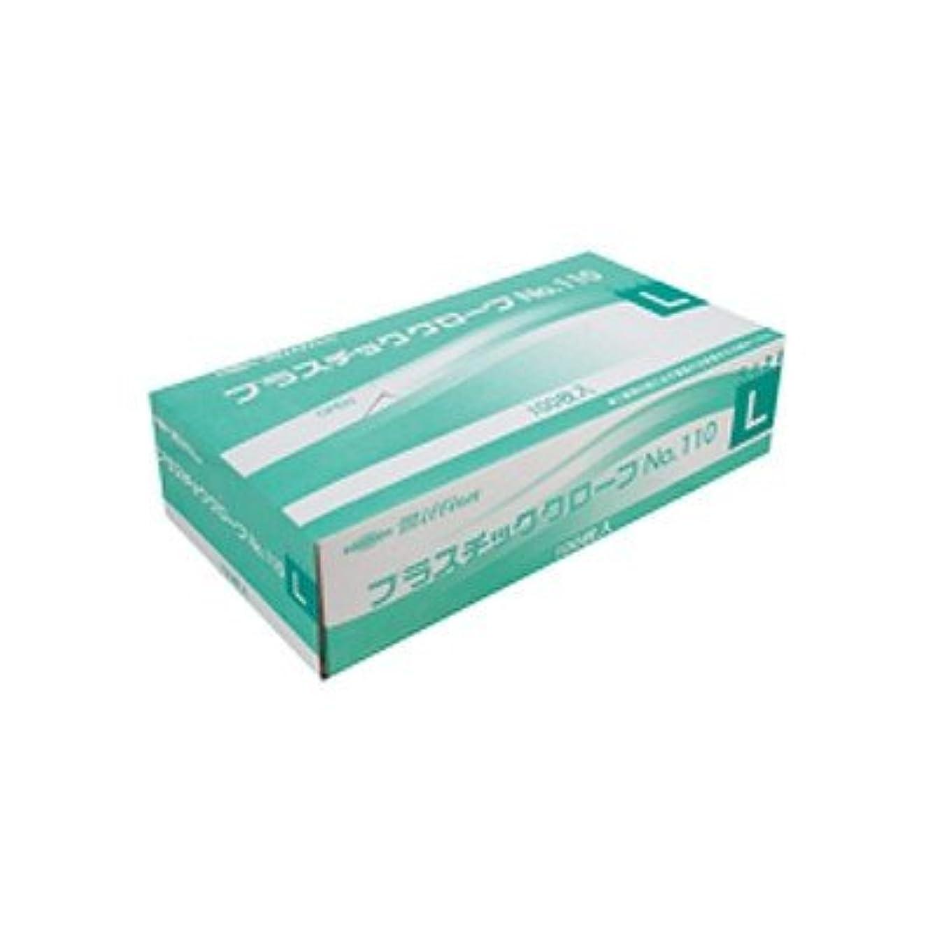 出会い隔離する広まったミリオン プラスチック手袋 粉付 No.110 L 品番:LH-110-L 注文番号:62741507 メーカー:共和