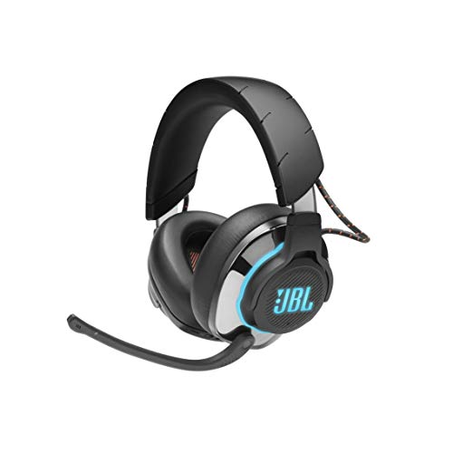 JBL Quantum 800 - Wireless Over-Ear Performance Gaming Headset with Active Noise Cancelling and Bluetooth 5.0 - Black