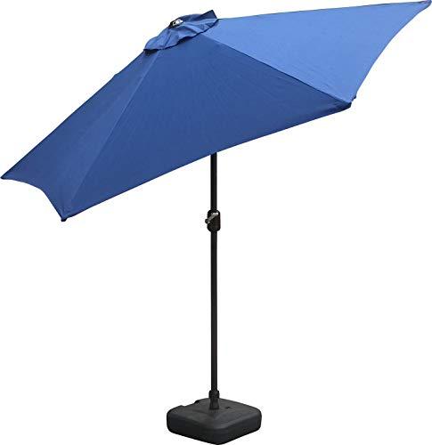 Parasol de luxe avec éclairage DEL Parasol 300 cm jardin parapluie pavillon