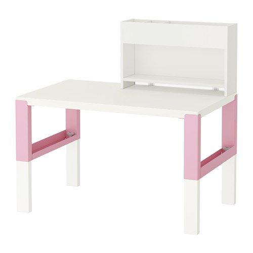IKEA Schreibtisch weiß pink 12204.82629.2238