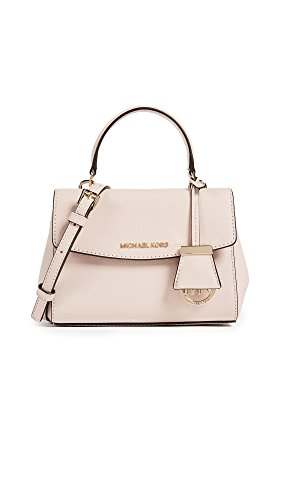 """100% Saffiano Leather Gold/Silver-Tone Hardware 10.5""""W X 7""""H X 4""""D, Handle Drop: 4"""", Adjustable Strap: 21""""-24"""" Interior Details: Zip Pocket, Open Pocket Magnetic Snap Fastening"""