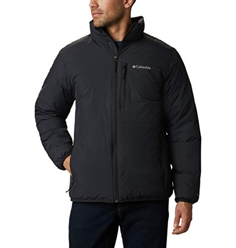 Columbia Men's Lhotse III Interchange Jacket, Black, X-Large