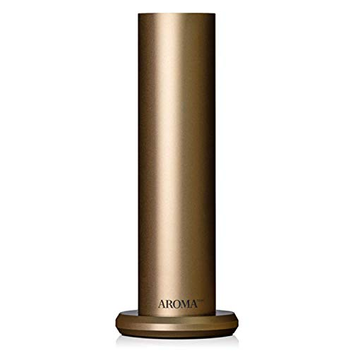 AromaTech AroMini BT Bluetooth Essential Oil Nebulizing Diffuser For Aromatherapy and Scent Diffusing In Gold