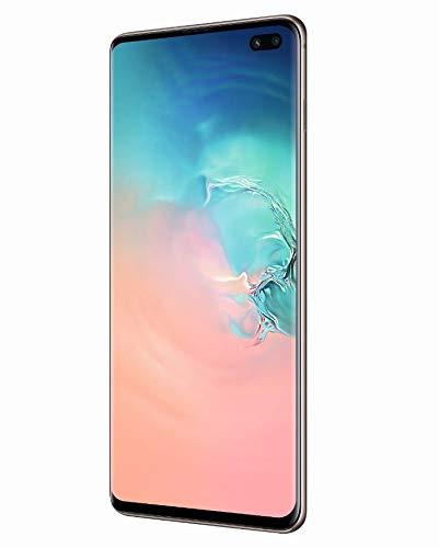 "Samsung Galaxy S10+ Smartphone, 128GB, Display 6.4"", Dual SIM,  Bianco (Prism White) [Versione UK]"