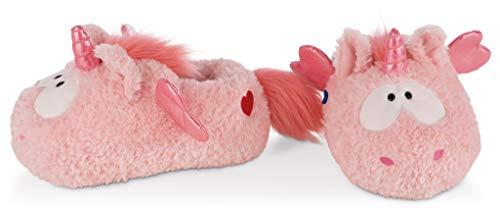 NICI 42226 Hausschuhe Einhorn Merry Heart, 34-37, rosa