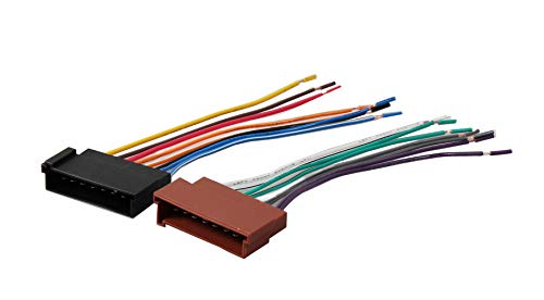 RED WOLF Car Wiring Harness Replace Factory Radio Stereo Install for Select 1985-2004 Ford F150/250/350/Lincoln/Mercury Vehicles