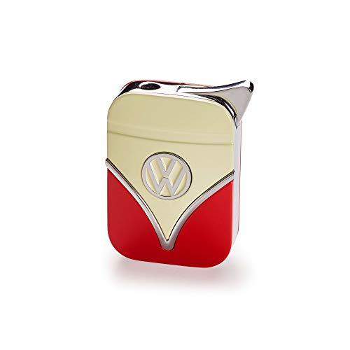 Volkswagen 1H3087016 Feuerzeug T1 Design, rot/beige