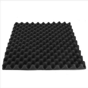 EsportsMJJ 500 X 500 X 50Mm Carrés D'Isolation Réduire Le Bruit Mousse Éponge Coton-7 Couleurs - Noir